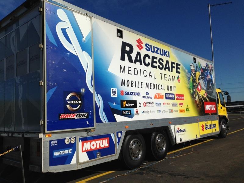 Mobile Medical Unit | Racesafe - motorsport Medical Unit facility